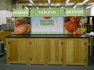 Backyard Farms | Hartmann Exhibits & Displays
