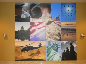Interior Wall Mural Military and Patriot | Hartmann Exhibits & Displays