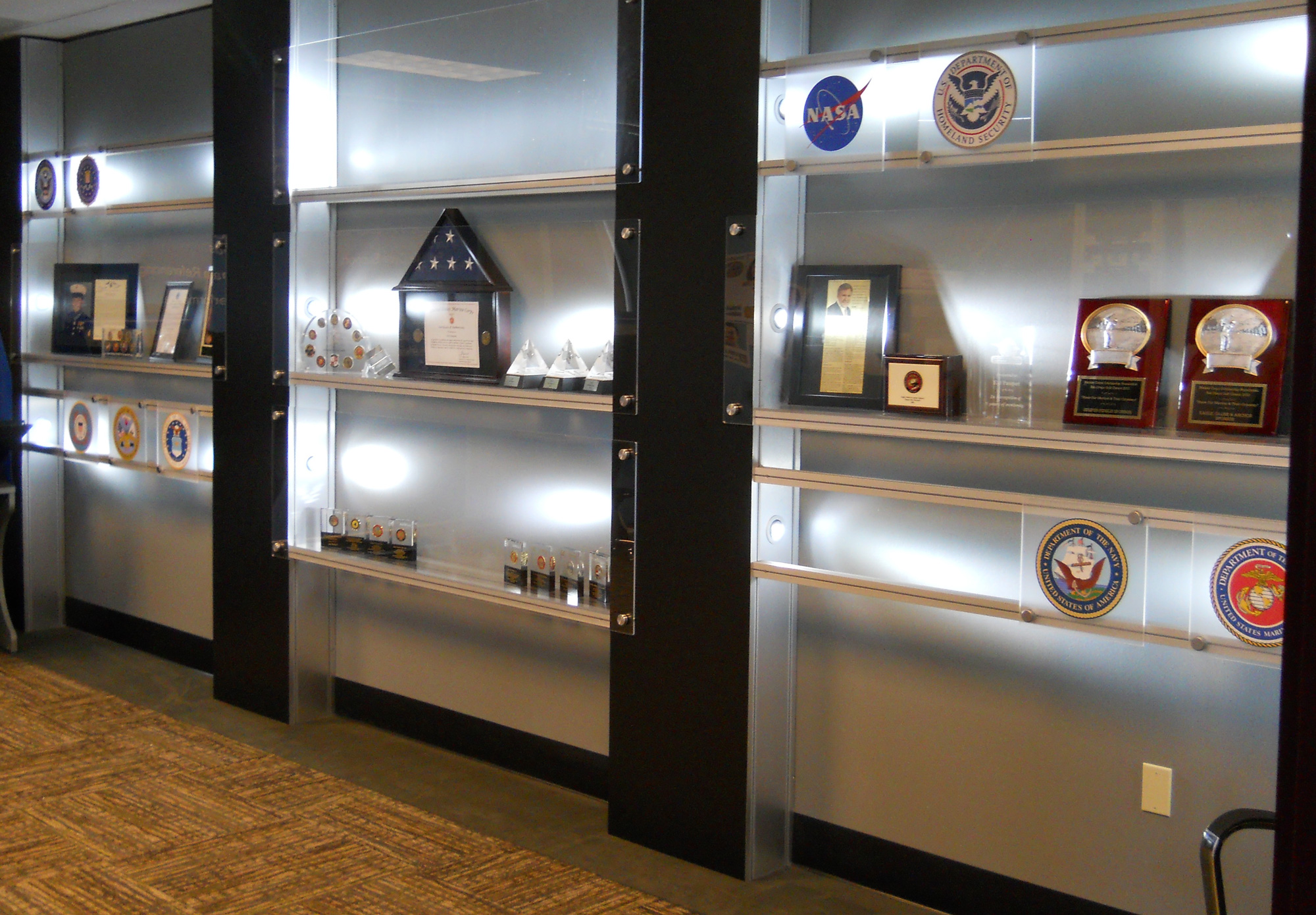Trophy Wall Interior