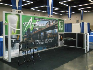 Artisan Dental Laboratory | Hartmann Exhibits & Displays