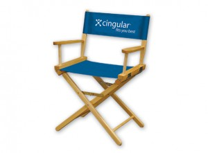 Cingular directors chair | Hartmann Exhibits & Displays