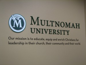 Multnomah University Interior Wall | Hartmann Exhibits & Displays