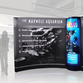 Maxwell Aquarium | Hartmann Exhibits & Displays