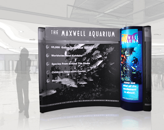 Pop ups hartmann exhibits displays for Pop up aquarium