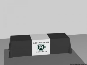 Multnomah University | Hartmann Exhibits & Displays