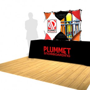 Plummet Snowboarding | Hartmann Exhibits & Displays