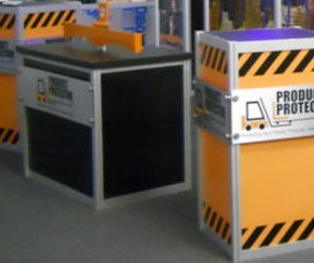 Product Protectors counters | Hartmann Exhibits & Displays
