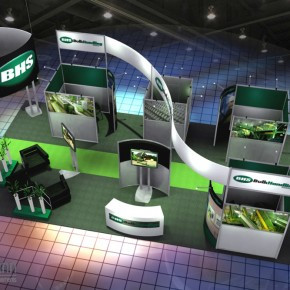 BHS Booth | Hartmann Exhibits & Displays
