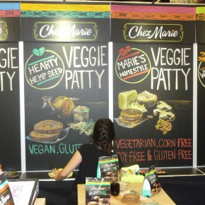 Chez Marie Chalkboard Booth| Hartmann Exhibits & Displays
