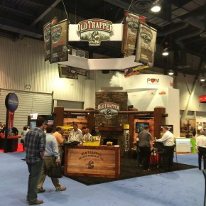 Old Trapper Cabin Booth | Hartmann Exhibits & Displays